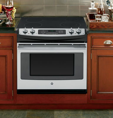 "GE® 30"" 4.4 Cu. Ft. Drop-In Electric Range"