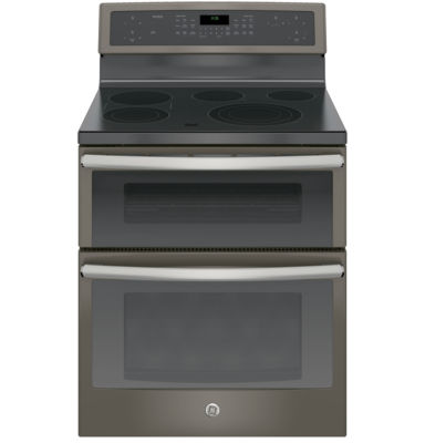 "GE Profile™  30""  6.6 Cu. Ft. Double Oven Electric Range with Convection Oven"