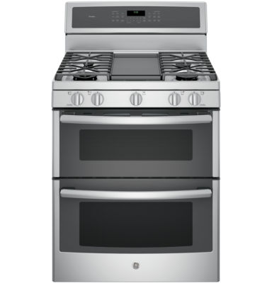 "GE Profile™  30""  6.8 Cu. Ft. Double Oven Gas Range with Convection"