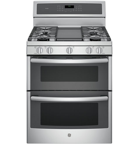 """GE Profile™  30""""  6.8 Cu. Ft. Double Oven Gas Range with Convection"""