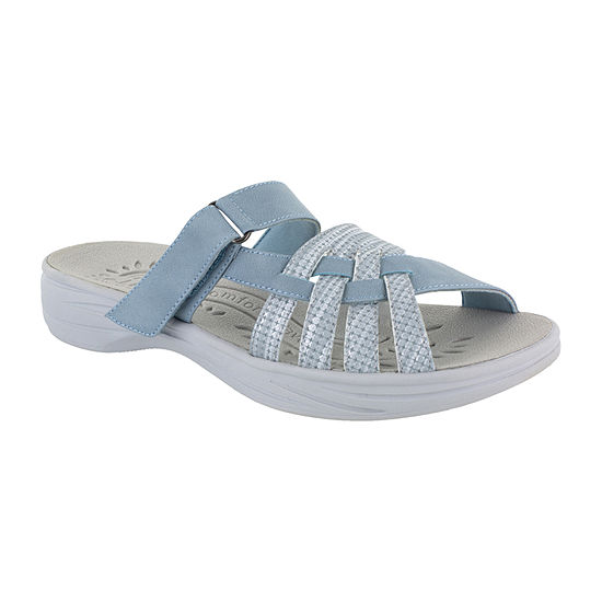 Easy Street Womens Delia Slide Sandals