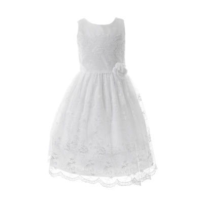 Keepsake First Communion Sleeveless Fit & Flare Dress - Big Kid Girls