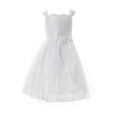 Keepsake First Communion Sleeveless Fit & Flare Dress - Big Kid Girls