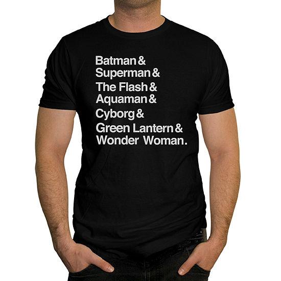 Mens Justice League Graphic T-Shirt
