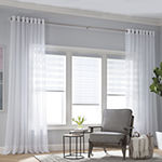 Home Expressions Lisette Grommet-Top Sheer Curtain Panel