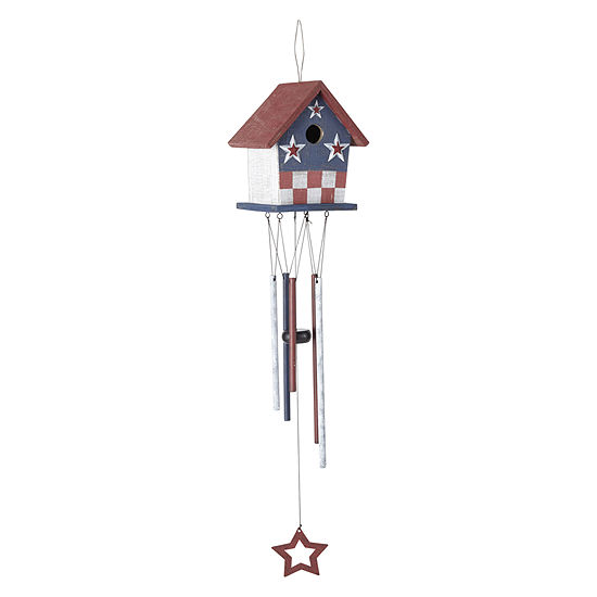 JCPenney Home Americana Wooden Birdhouse