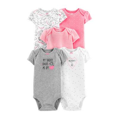 Carter's 5-Pk. Bodysuit Set - Baby Girl
