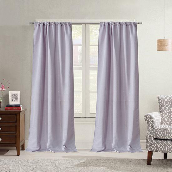 Bella Valenti Jamyson Light-Filtering Rod-Pocket Curtain Panel
