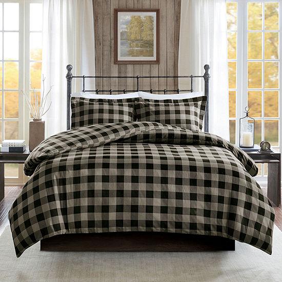 Woolrich Flannel Cotton 3-pc. Duvet Cover Set