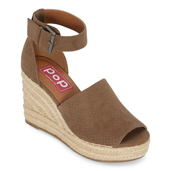 Pop Womens Damera Wedge Sandals