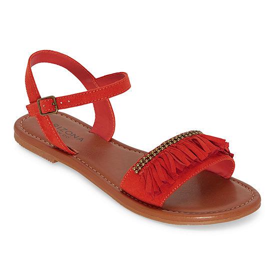 Arizona Womens Gle Adjustable Strap Flat Sandals