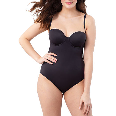 Maidenform Firm Foundations Body Shaper - Dms108, D , Black