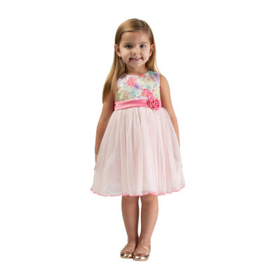 Bonnie Jean Toddler Girls Sleeveless Midi Party Dress