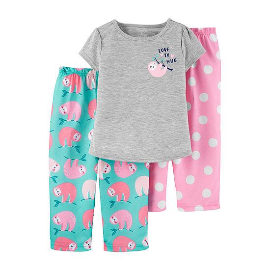 Carter's Girls 3-pc. Pajama Set Toddler