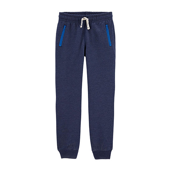 Carter's - Little Kid / Big Kid Boys Mid Rise Tapered Jogger Pant