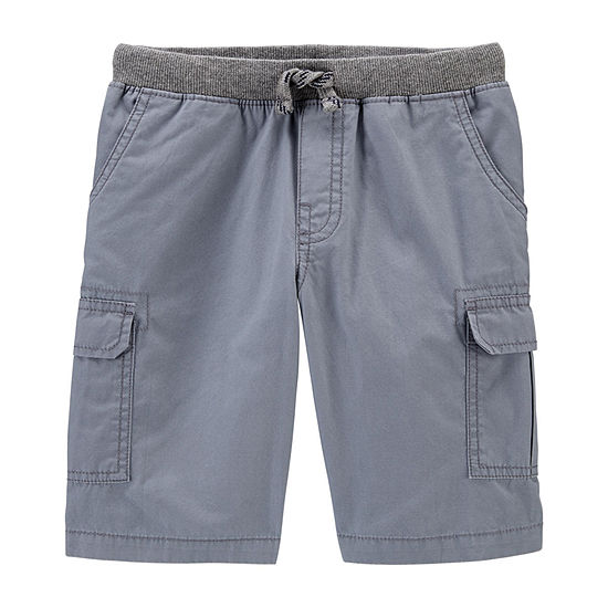 Carter's Little & Big Boys Mid Rise Cargo Short