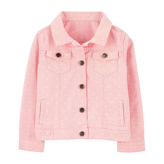 Carter's Girls Denim Jacket Preschool / Big Kid