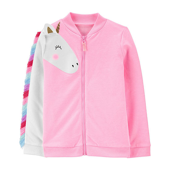 Carter's Little Kid / Big Kid Girls French Terry Lightweight Jacket