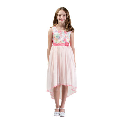 Bonnie Jean Little & Big Girls Sleeveless Party Dress