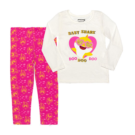 Nickelodeon Toddler Girls 2-pc. Baby Shark Legging Set