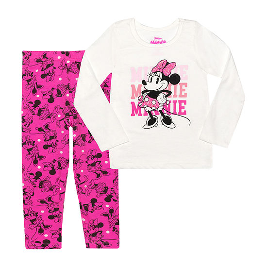 Disney Toddler Girls 2-pc. Minnie Mouse Legging Set