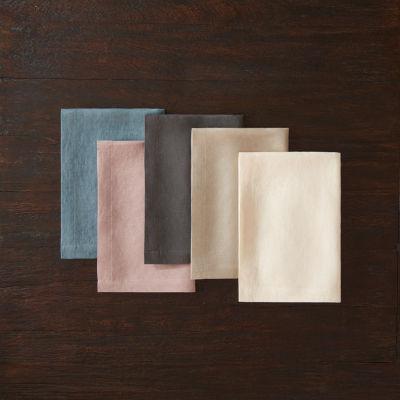 Fieldcrest Luxury Washed Linen 4-pc. Napkins