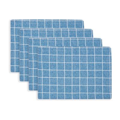 Fieldcrest Window Pane 4-pc. Placemat