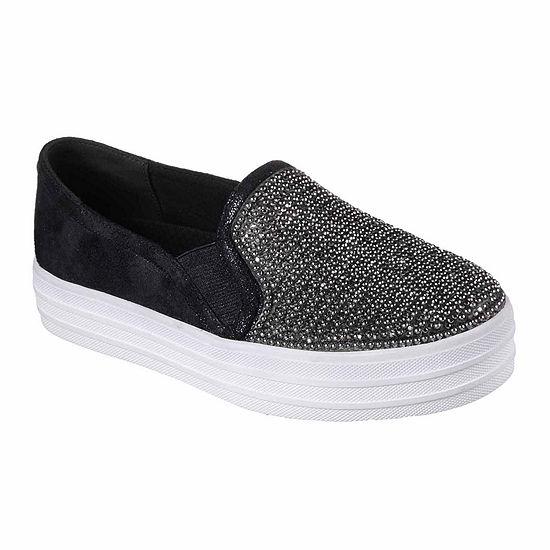 Skechers Shiny Dancer Womens Slip-on Sneakers