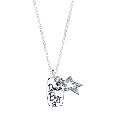 Footnotes Footnotes White Pendant Necklace