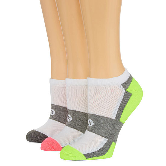 Xersion 3 Pair Low Cut Socks - Womens