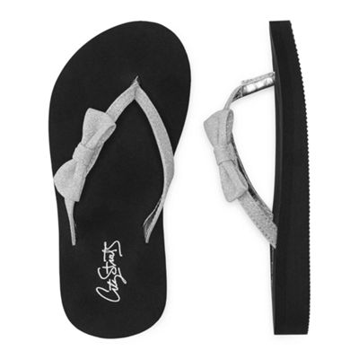 City Streets Gamma Girls Flip-Flops - Little Kids/Big Kids