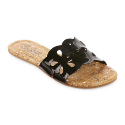 City Streets Umbra Girls Slide Sandals - Little Kids/Big Kids