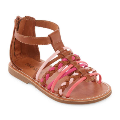 Okie Dokie Juniper Girls Gladiator Sandals - Toddler