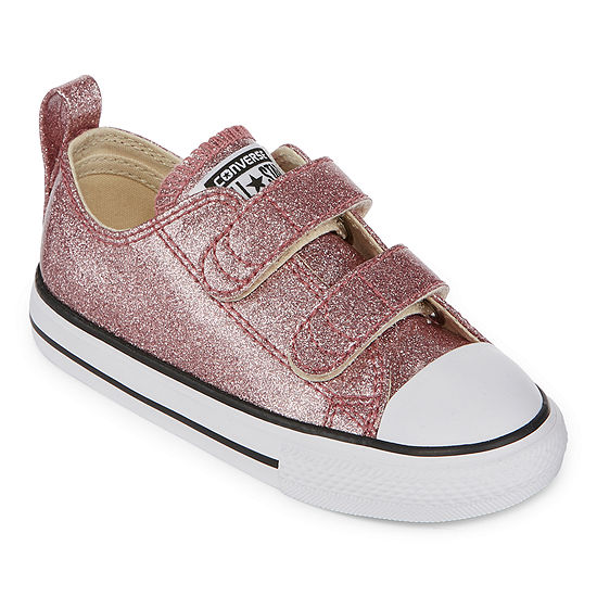 9b9848e9ffeab Converse Chuck Taylor All Star 2V OX Girls Sneakers - Toddler