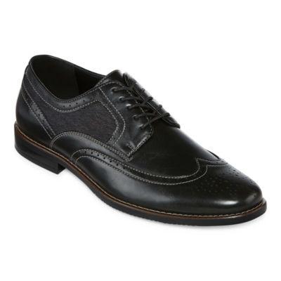 Stafford John Mens Oxford Shoes