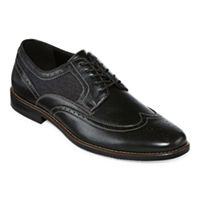 Stafford Men's John Oxford Shoes Lace-up Wing Tip Deals
