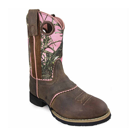 Smoky Mountain Girls Cowboy Boots Pull-on