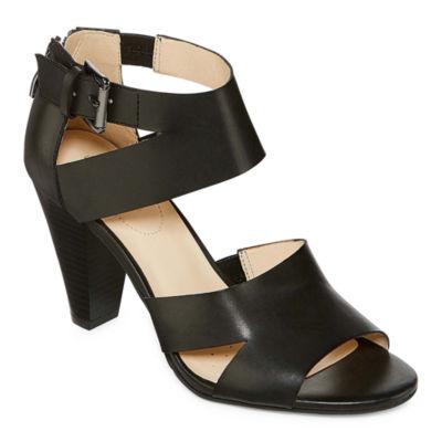 Liz Claiborne Germaine Womens Heeled Sandals