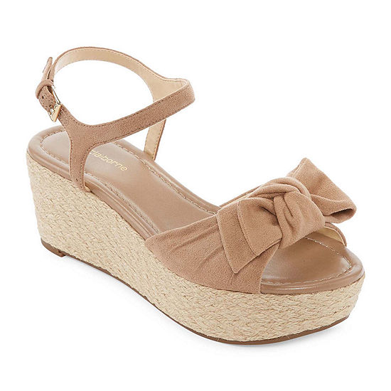Liz Claiborne Womens Brooklyn Wedge Sandals