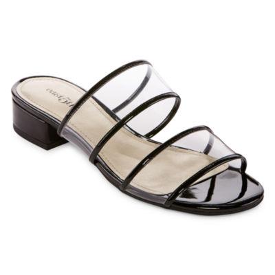 east 5th Swan Womens Slide Sandals