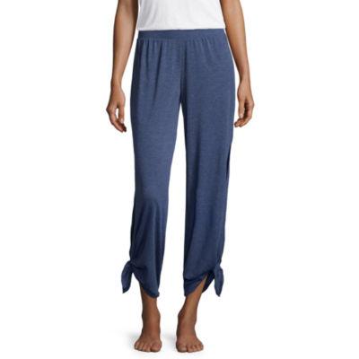 Flirtitude Jersey Pajama Pants-Juniors