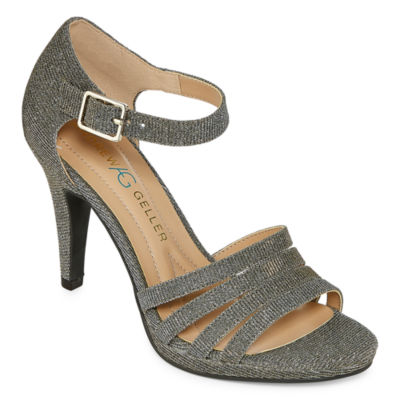 Andrew Geller Womens Tangela Heeled Sandals