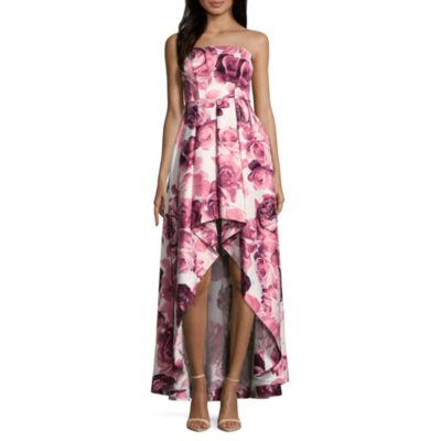 Speechless Sleeveless Floral Fit & Flare Dress-Juniors