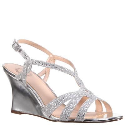 I. Miller Vardina Womens Wedge Sandals