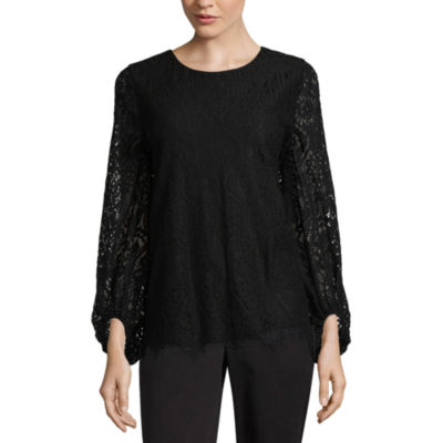 Worthington Lace Top - Tall