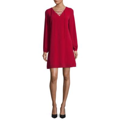 Worthington Lace Up Dress - Tall