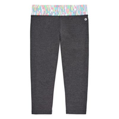 Xersion Cotton Skinny Leg Regular Capri Tight - Girls' Sizes 4-16 and Plus
