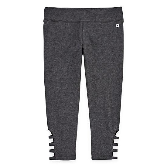 Xersion Cotton Capri Legging - Girls 4-16 and Plus