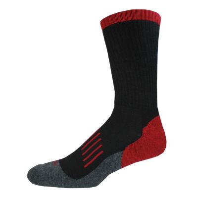 Dickies® Mens 2-Pk. Medium Cushion Wool Blend Crew Socks