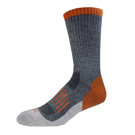 Dickies® Mens 2-Pk. Medium Cushion Wool Blend Crew Socks